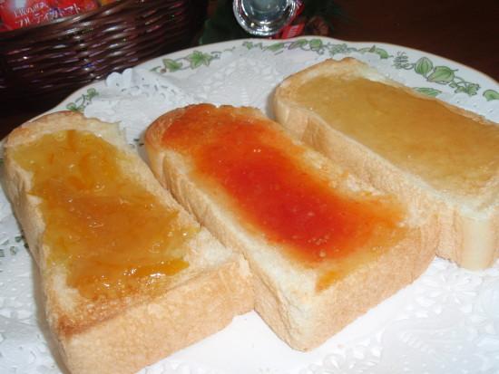 生姜、トマト、ゆずのジャム